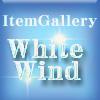 アイテムギャラリー ホワイトウィンド/横背景:壁紙